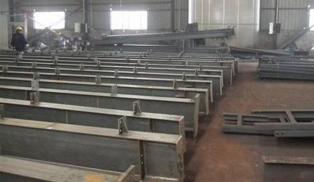 鋼結構產品-H型鋼制作